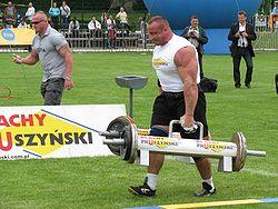 Mariusz Pudzianowski - zawody strongmanów