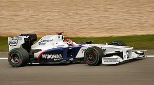 Robert Kubica w BMW Sauber - Grand Prix Niemiec 2009